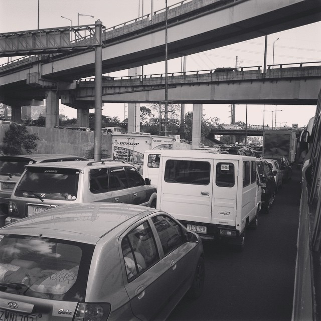 """Gridlocked"" - South Luzon Expressway, 20 May 2015"